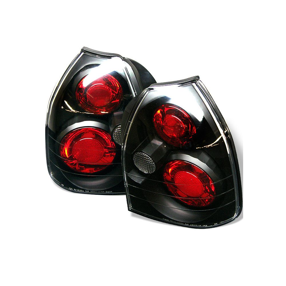 Spyder Auto ® - Black Euro Style Tail Lights (5004895)