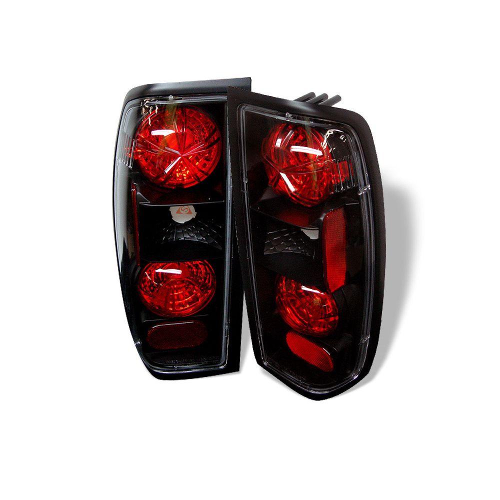 Spyder Auto ® - Black Euro Style Tail Lights (5006837)