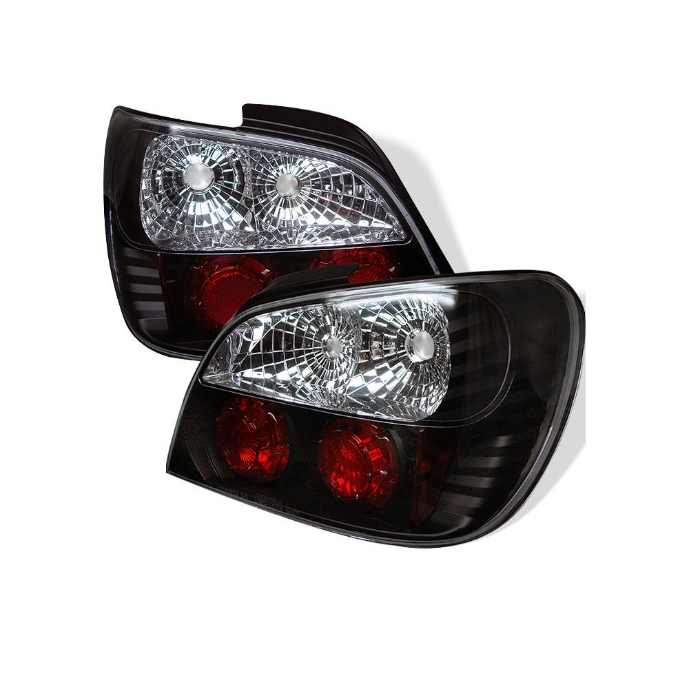 Spyder Auto ® - Black Euro Style Tail Lights (5007193)