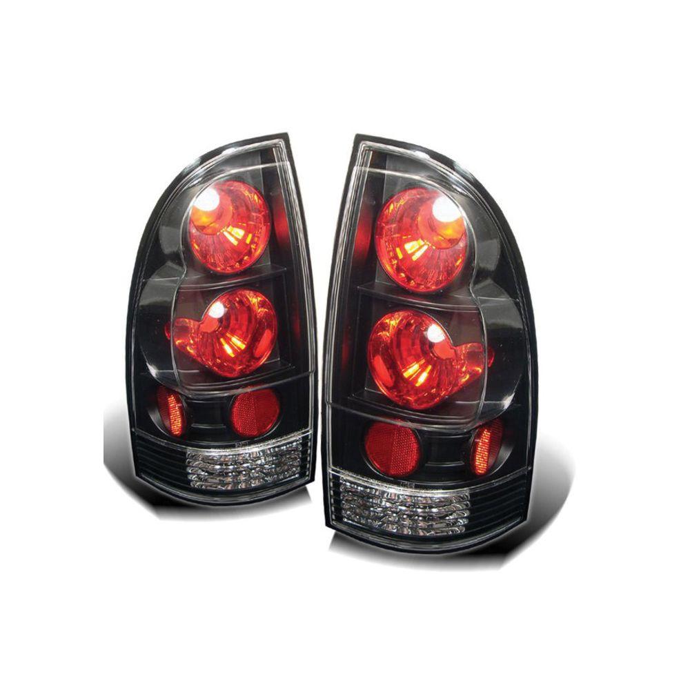 Spyder Auto ® - Black Euro Style Tail Lights (5007896)