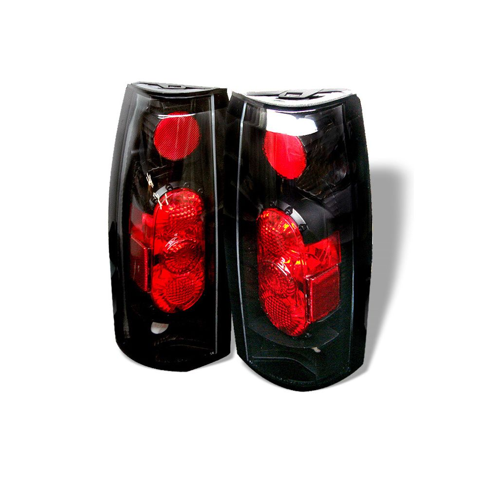 Spyder Auto ® - Black G2 Euro Style Tail Lights (5001320)