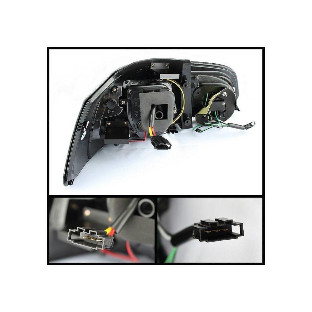Spyder Auto ® - Black G2 Type With Light Bar LED Tail Lights (5071767)