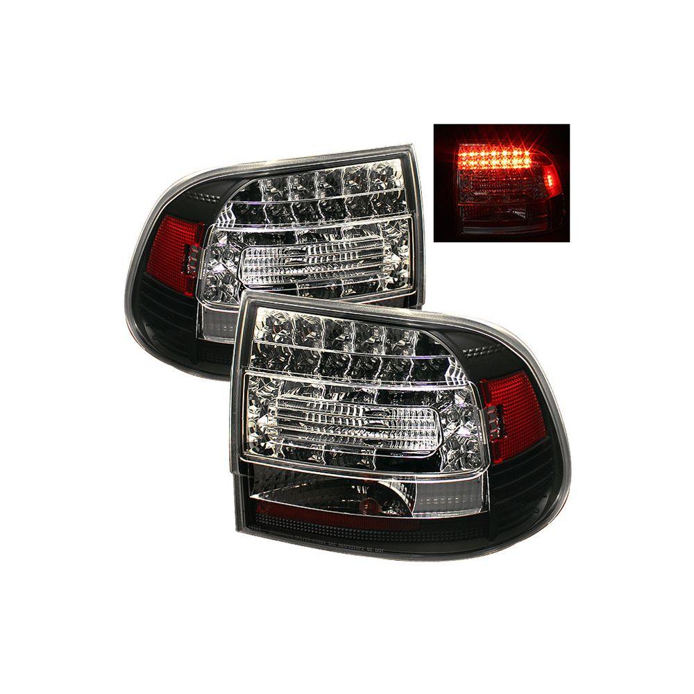 Spyder Auto ® - Black LED Tail Lights (5007063)
