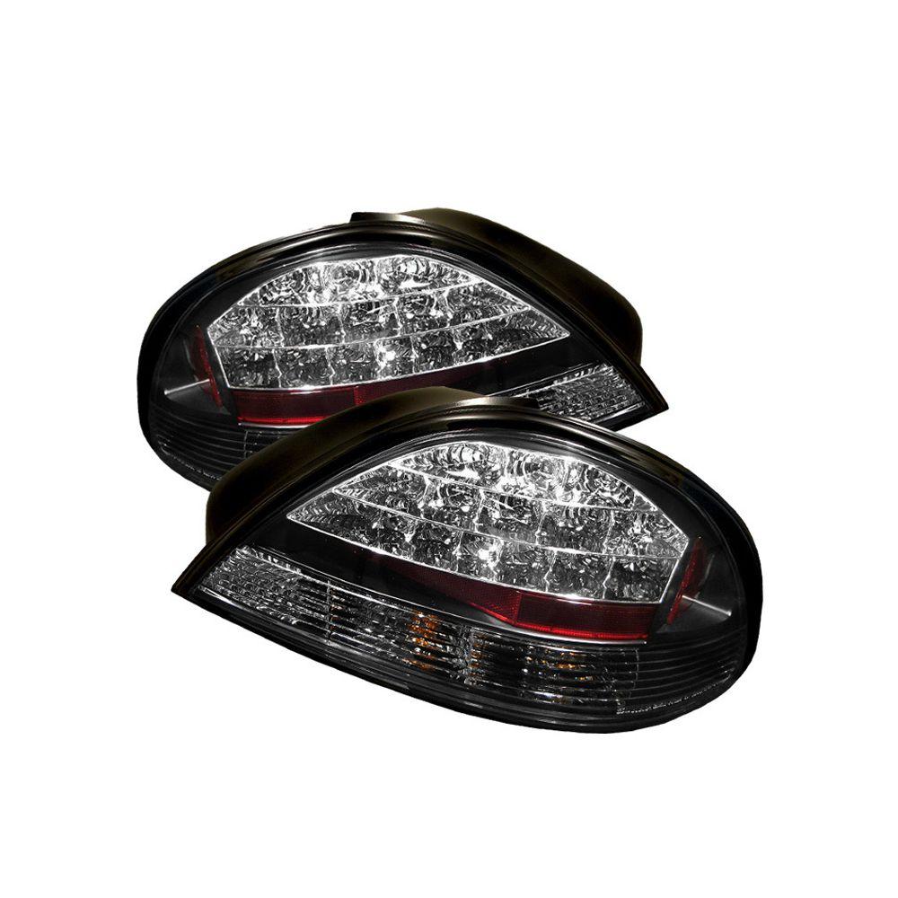 Spyder Auto ® - Black LED Tail Lights (5007117)