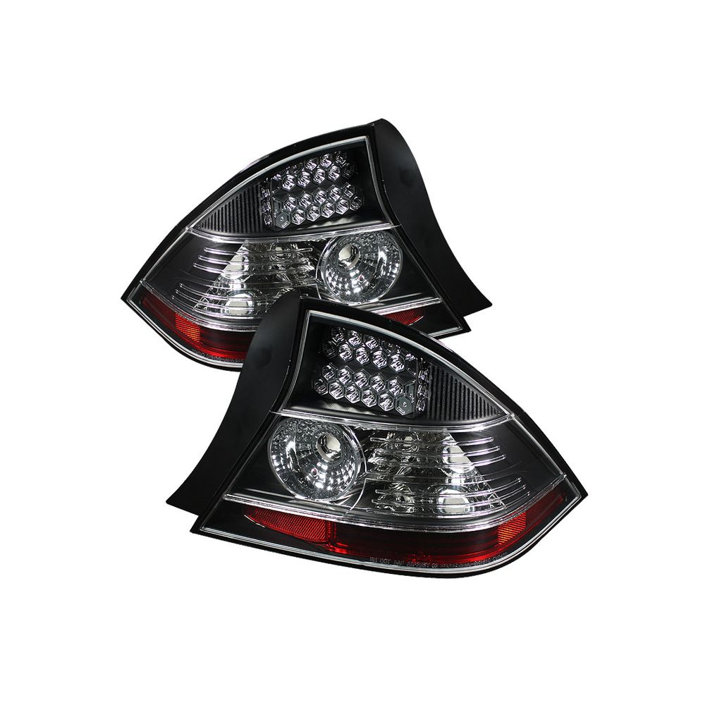 Spyder Auto ® - Black LED Tail Lights (5008541)
