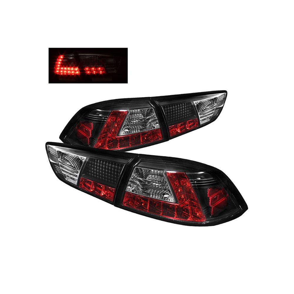 Spyder Auto ® - Black LED Tail Lights (5030375)
