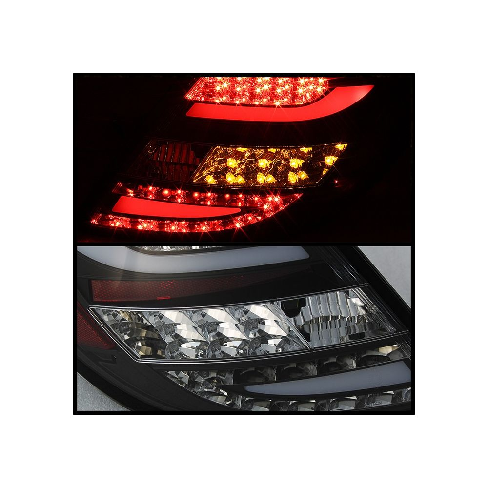 Spyder Auto ® - Black LED Tail Lights (5072689)