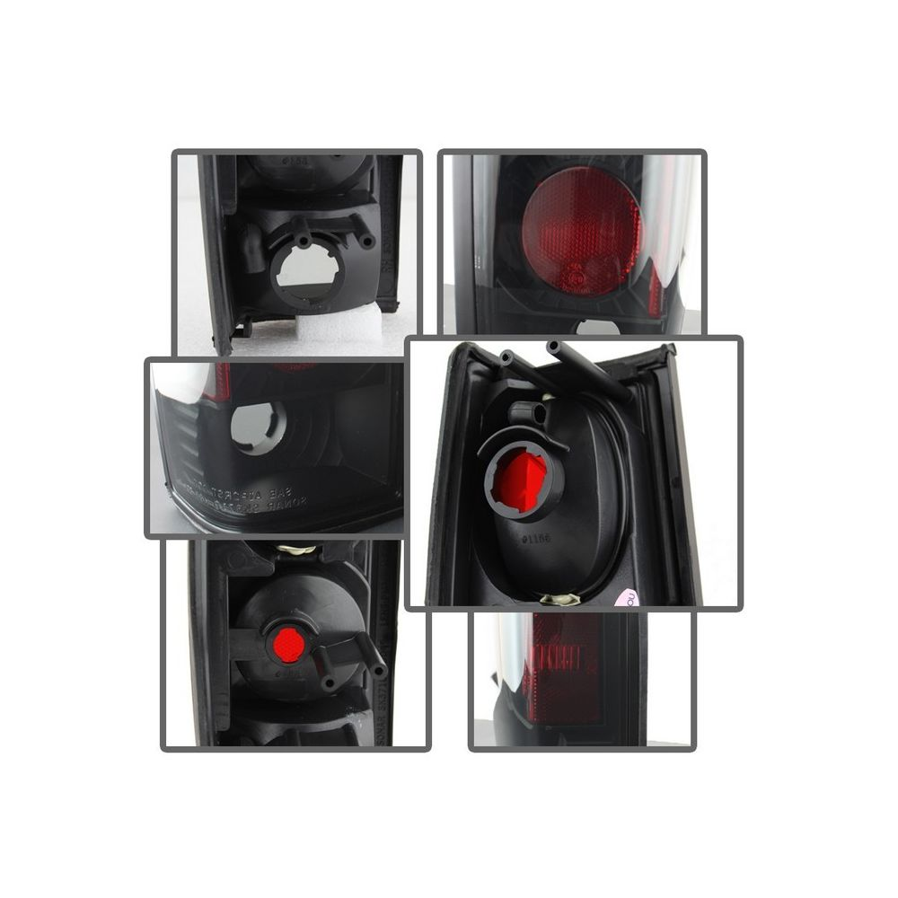 Spyder Auto ® - Black Smoke Euro Style Tail Lights (5078216)