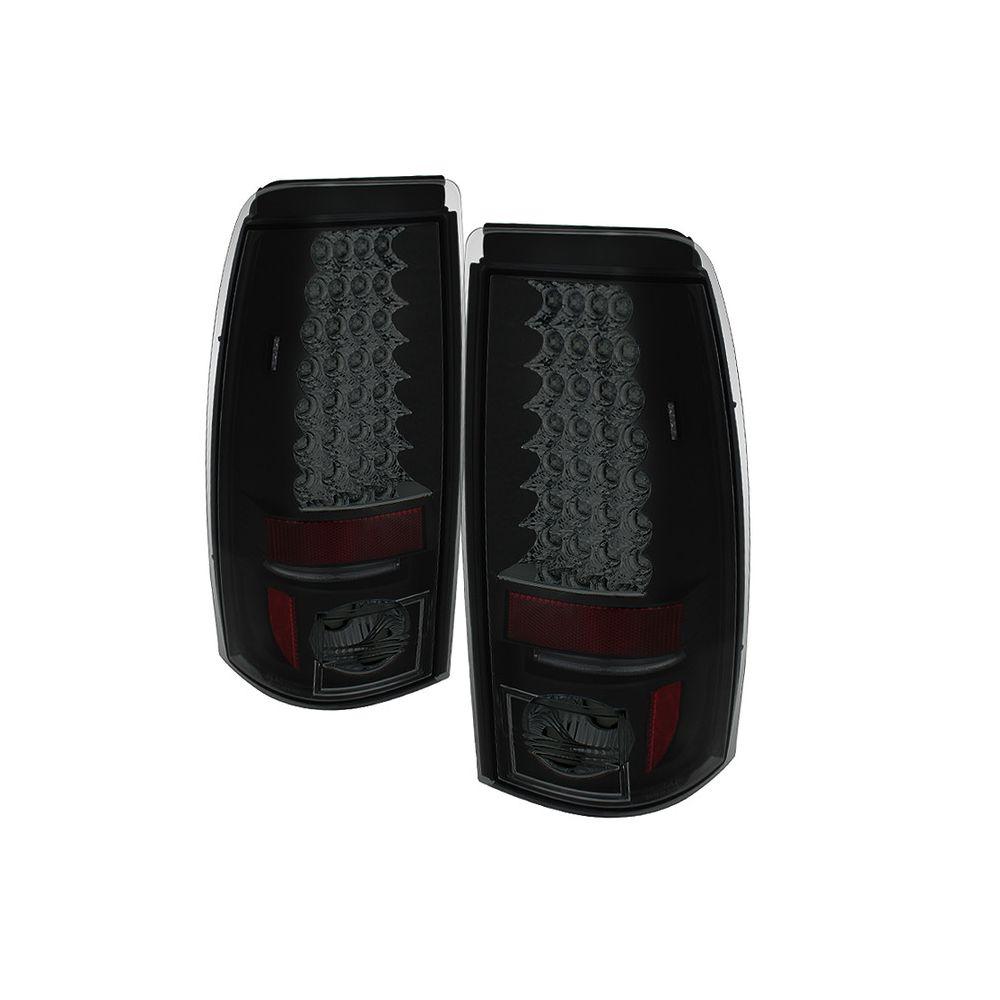 Spyder Auto ® - Black Smoke LED Tail Lights (5078025)