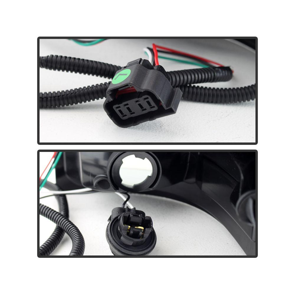 Spyder Auto ® - Black Smoke LED Tail Lights (5078186)