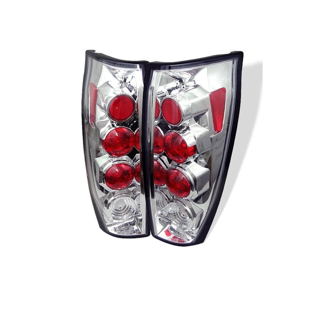 Spyder Auto ® - Chrome Euro Style Tail Lights (5001115)