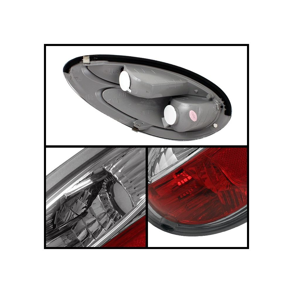 Spyder Auto ® - Chrome Euro Style Tail Lights (5001672)