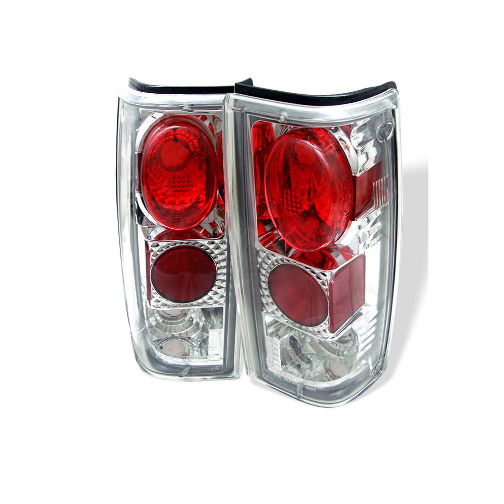 Spyder Auto ® - Chrome Euro Style Tail Lights (5001849)