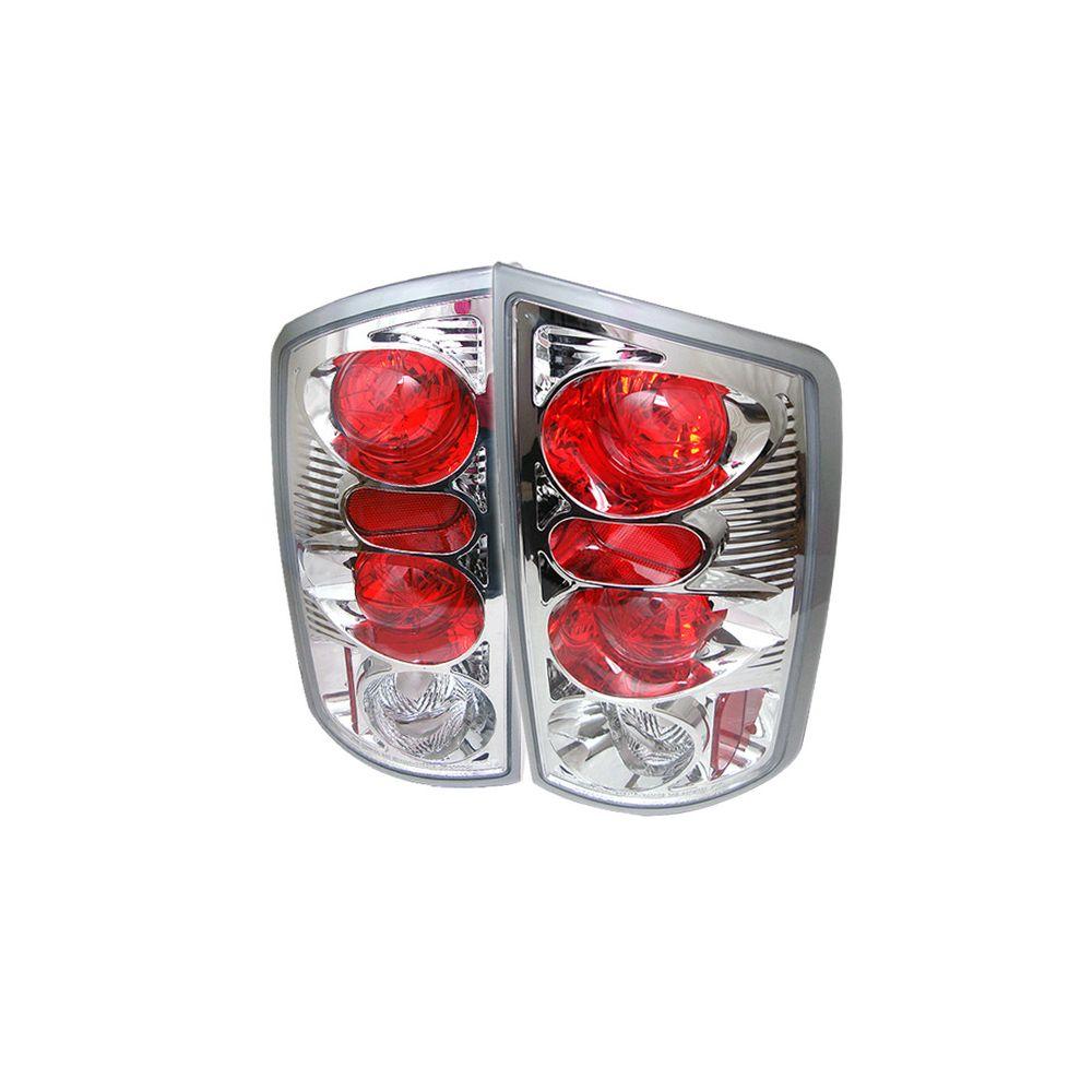 Spyder Auto ® - Chrome Euro Style Tail Lights (5002532)