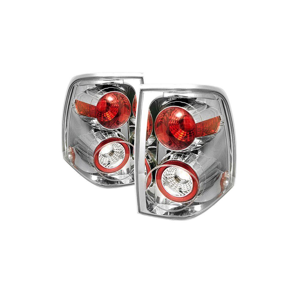 Spyder Auto ® - Chrome Euro Style Tail Lights (5002808)