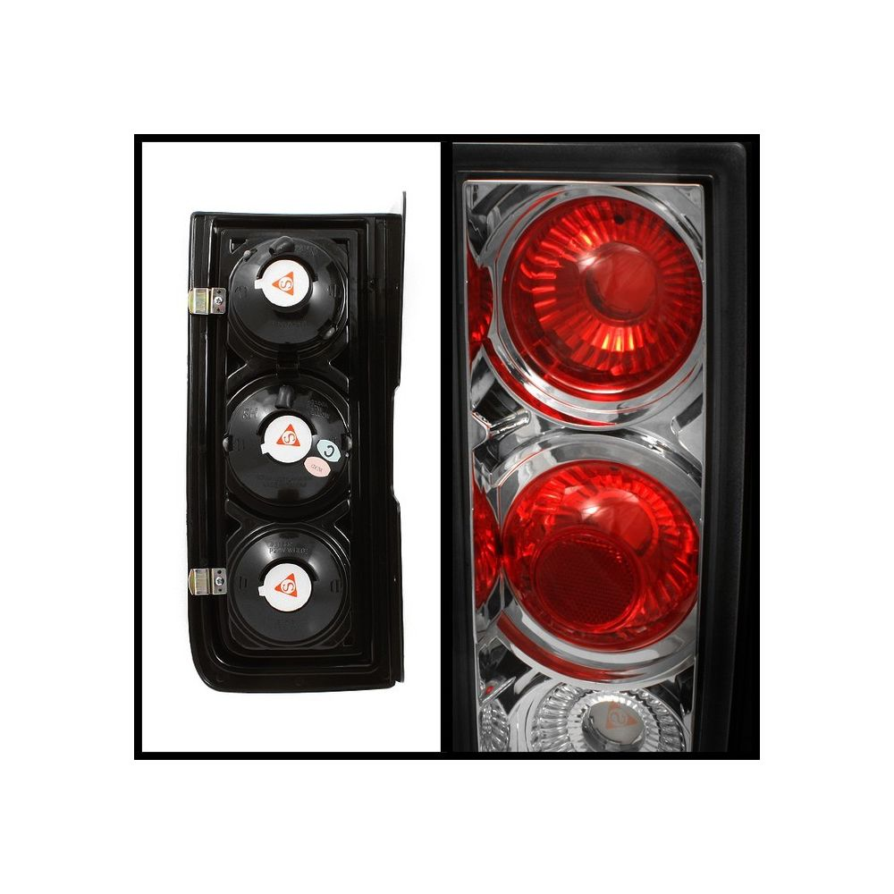 Spyder Auto ® - Chrome Euro Style Tail Lights (5005205)