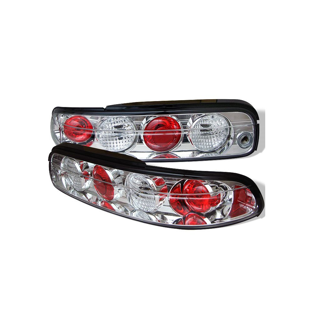 Spyder Auto ® - Chrome Euro Style Tail Lights (5006059)