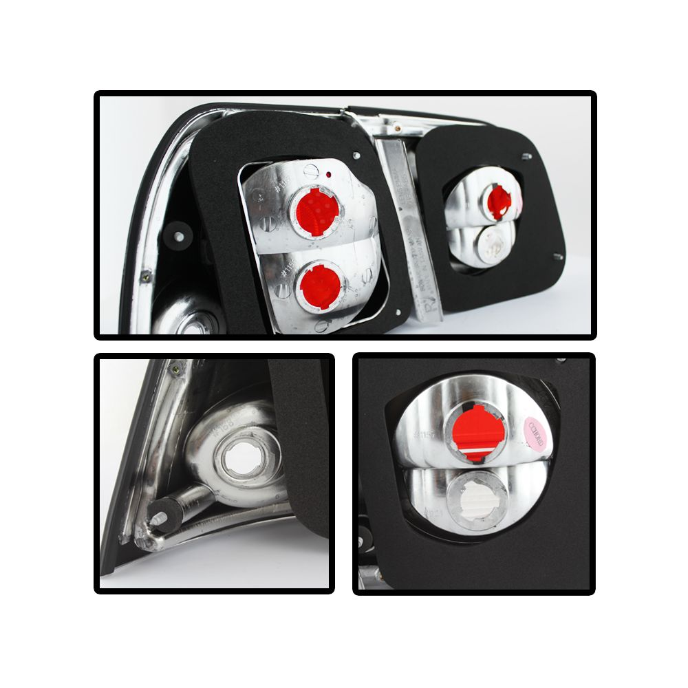 Spyder Auto ® - Chrome Euro Style Tail Lights (5006967)