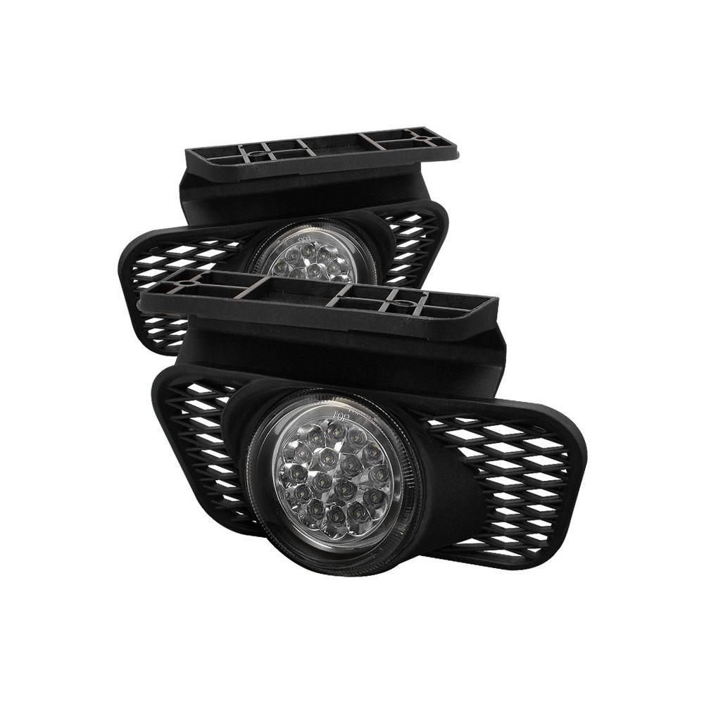 Spyder Auto ® - Chrome LED Fog Lights (5015556)