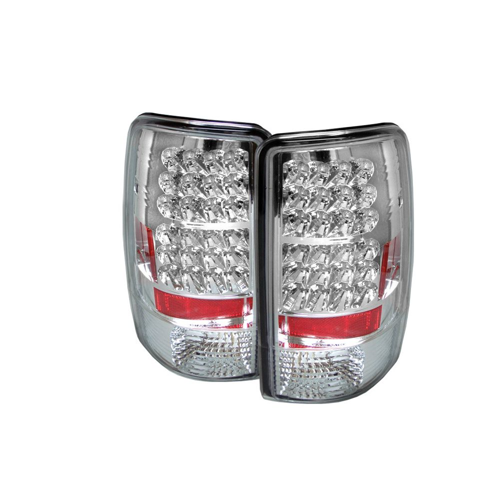 Spyder Auto ® - Chrome LED Tail Lights (5001535)