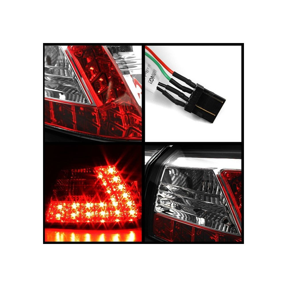 Spyder Auto ® - Chrome LED Tail Lights (5030368)
