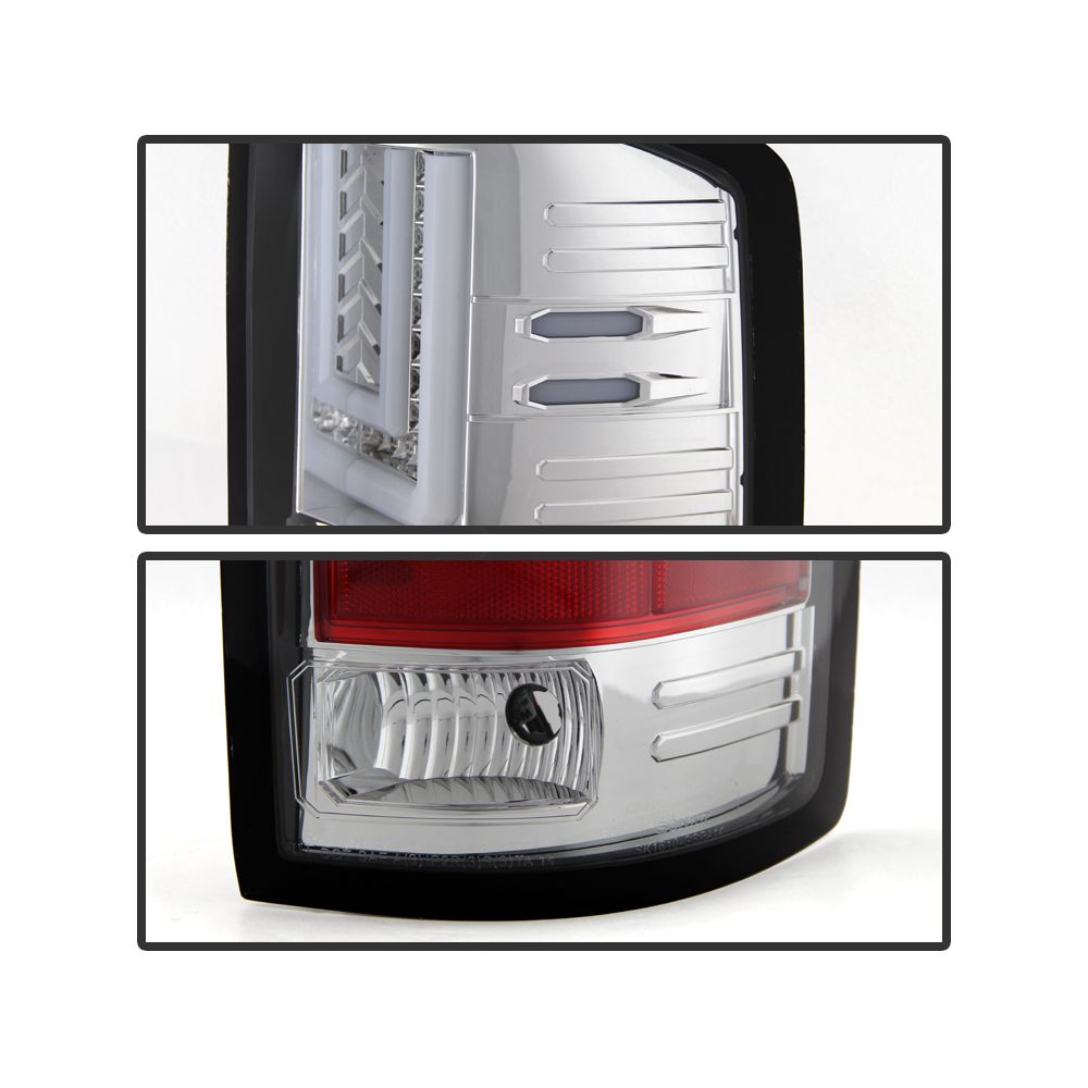 Spyder Auto ® - Chrome LED Tail Lights (5080653)