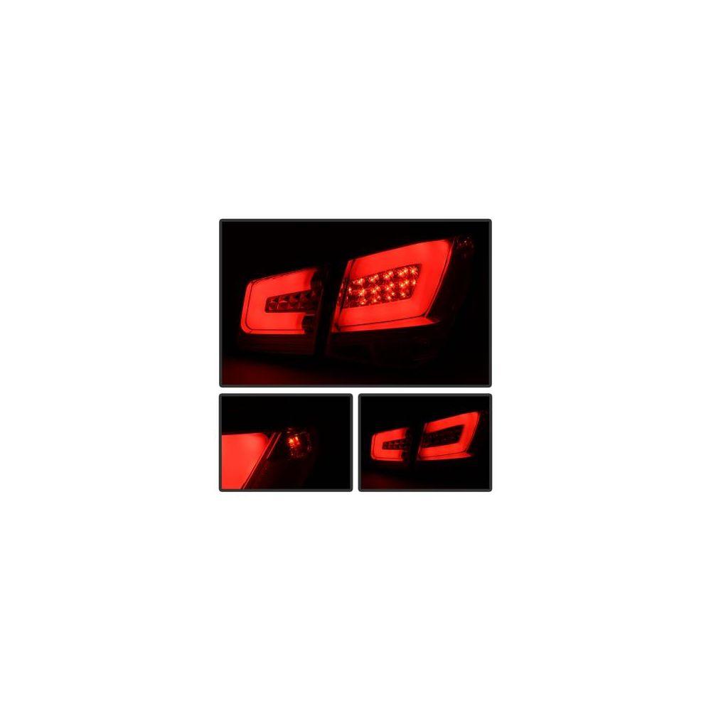 Spyder Auto ® - Chrome Light Bar LED Tail Lights (5076601)