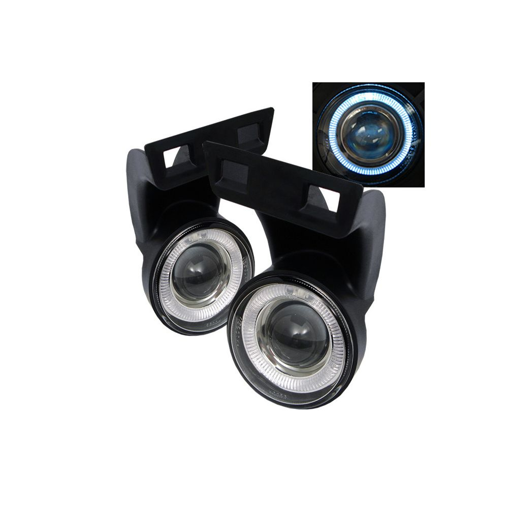 Spyder Auto ® - Clear Halo Projector Fog Lights (5021274)
