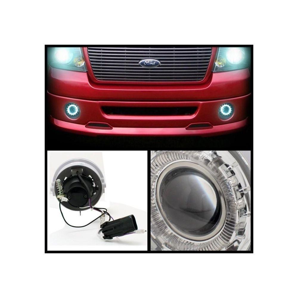 Spyder Auto ® - Clear Halo Projector Fog Lights (5021304)