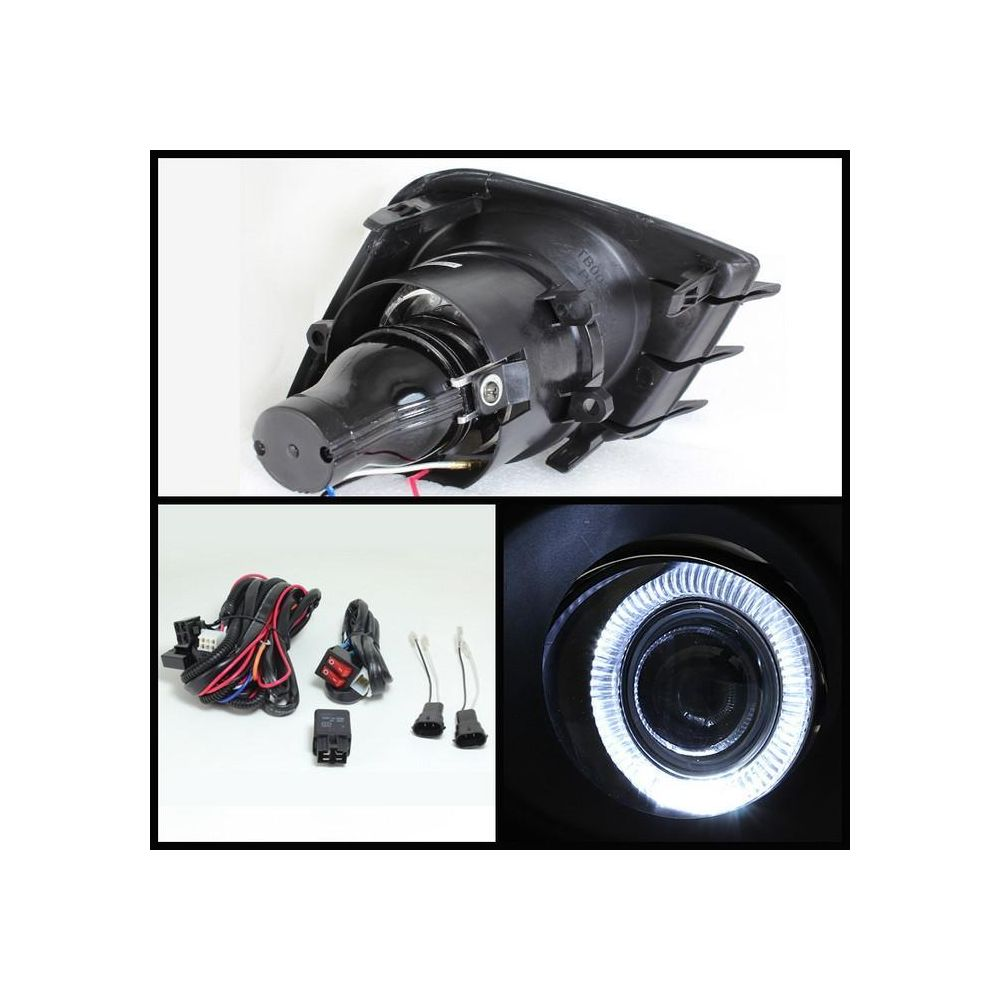Spyder Auto ® - Clear Halo Projector Fog Lights (5070524)