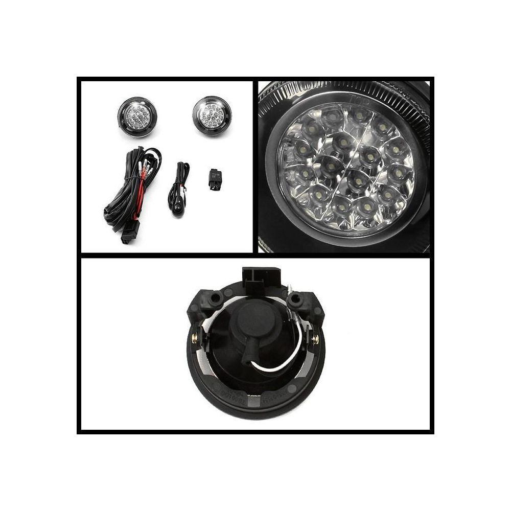 Spyder Auto ® - Clear LED Fog Lights (5015570)