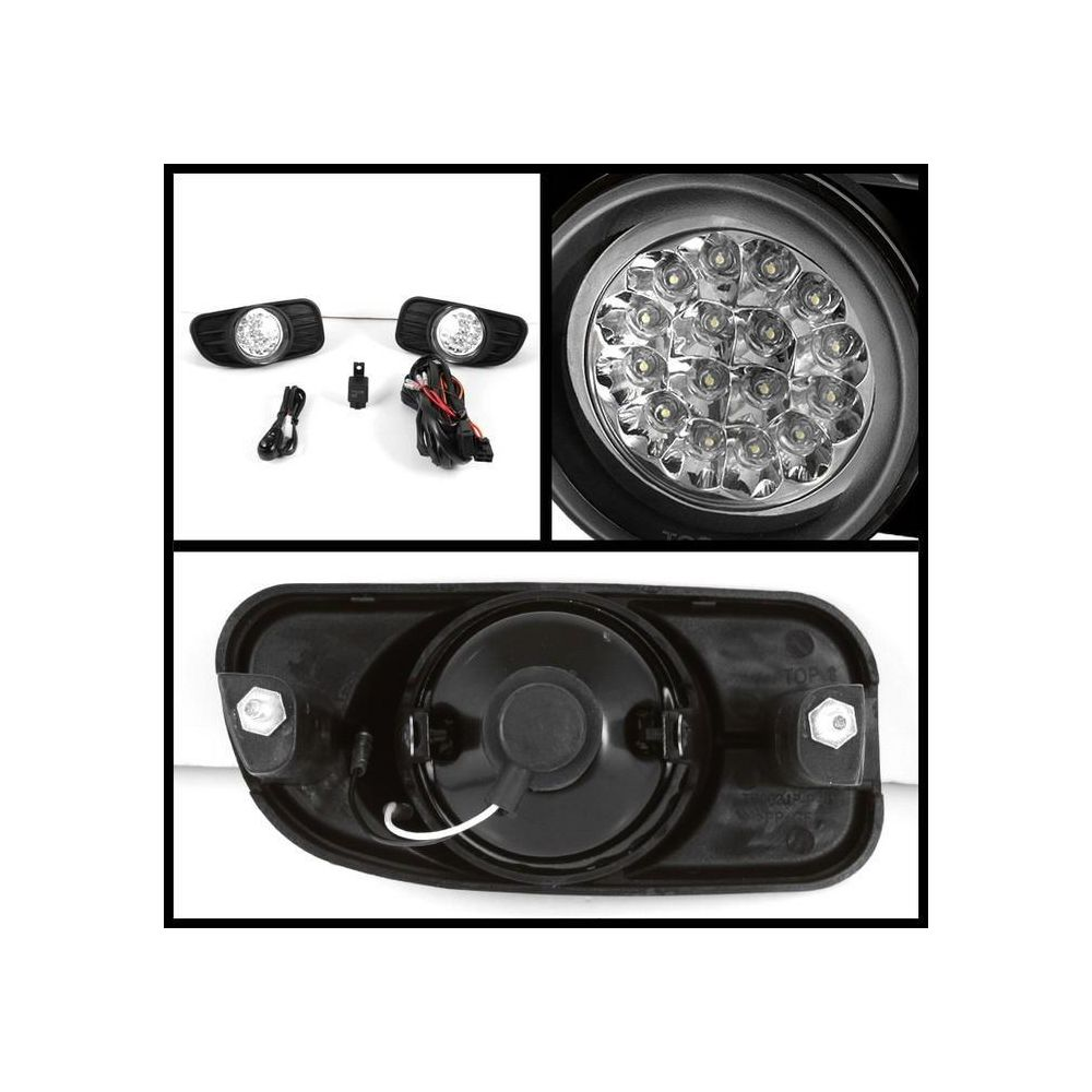 Spyder Auto ® - Clear LED Fog Lights (5015693)