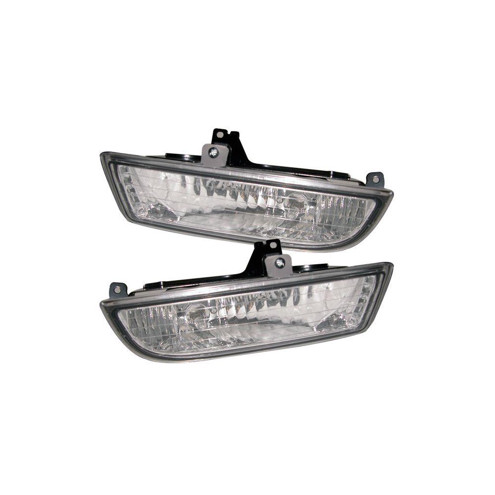 Spyder Auto ® - Clear OEM Style Fog Lights (5020734)