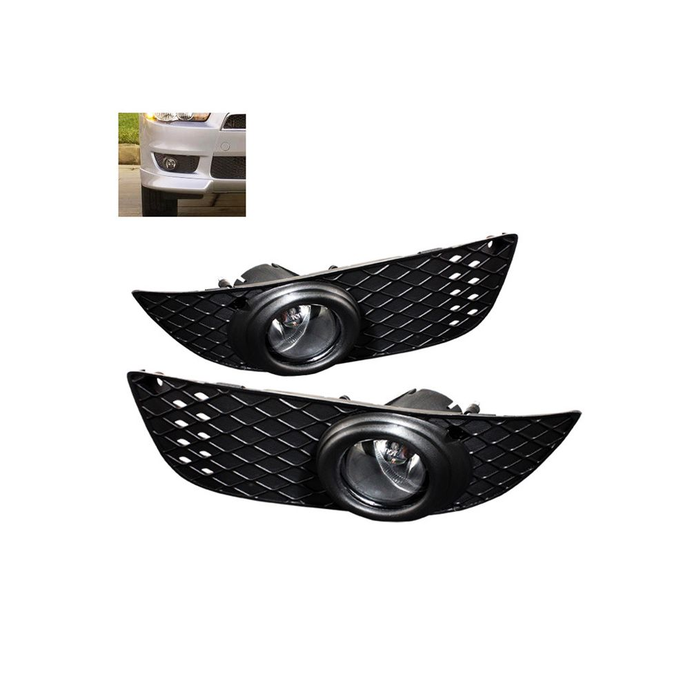 Spyder Auto ® - Clear OEM Style Fog Lights (5025661)