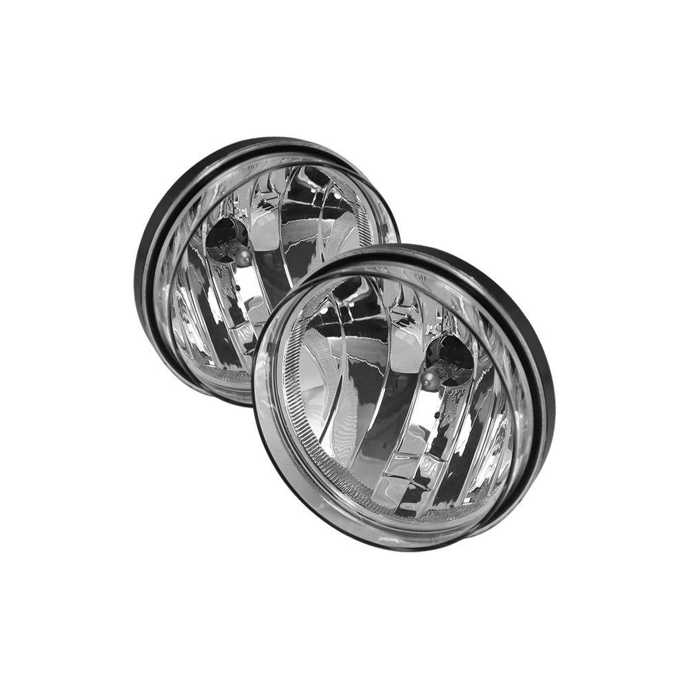 Spyder Auto ® - Clear OEM Style Fog Lights (5043252)