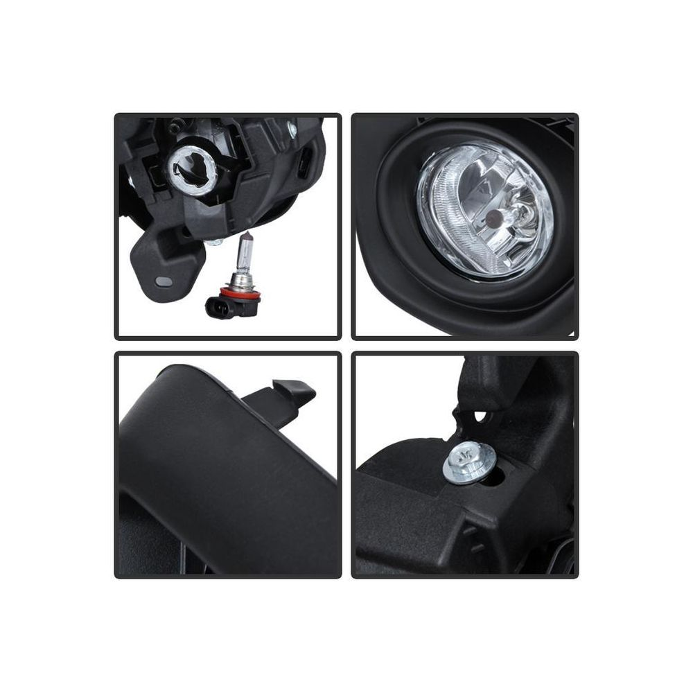 Spyder Auto ® - Clear OEM Style Fog Lights (5080264)