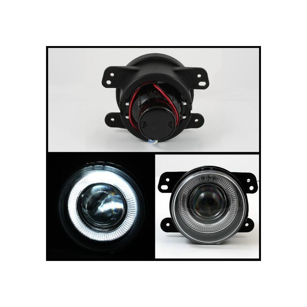 Spyder Auto ® - Clear Projector Fog Lights (5015853)