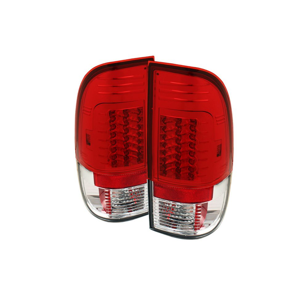 Spyder Auto ® - Red Clear Version 2 LED Tail Lights (5029195)