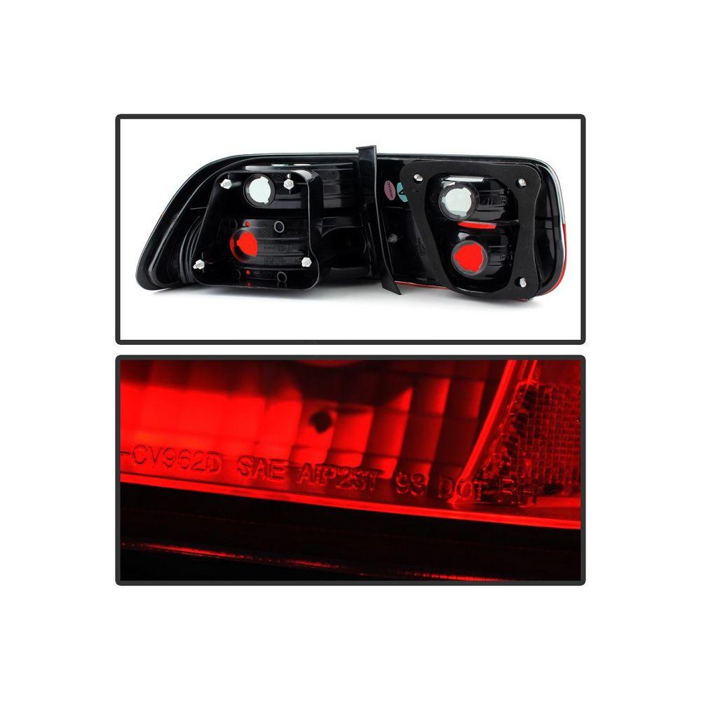 Spyder Auto ® - Red Smoke Crystal Tail Lights (5076557)