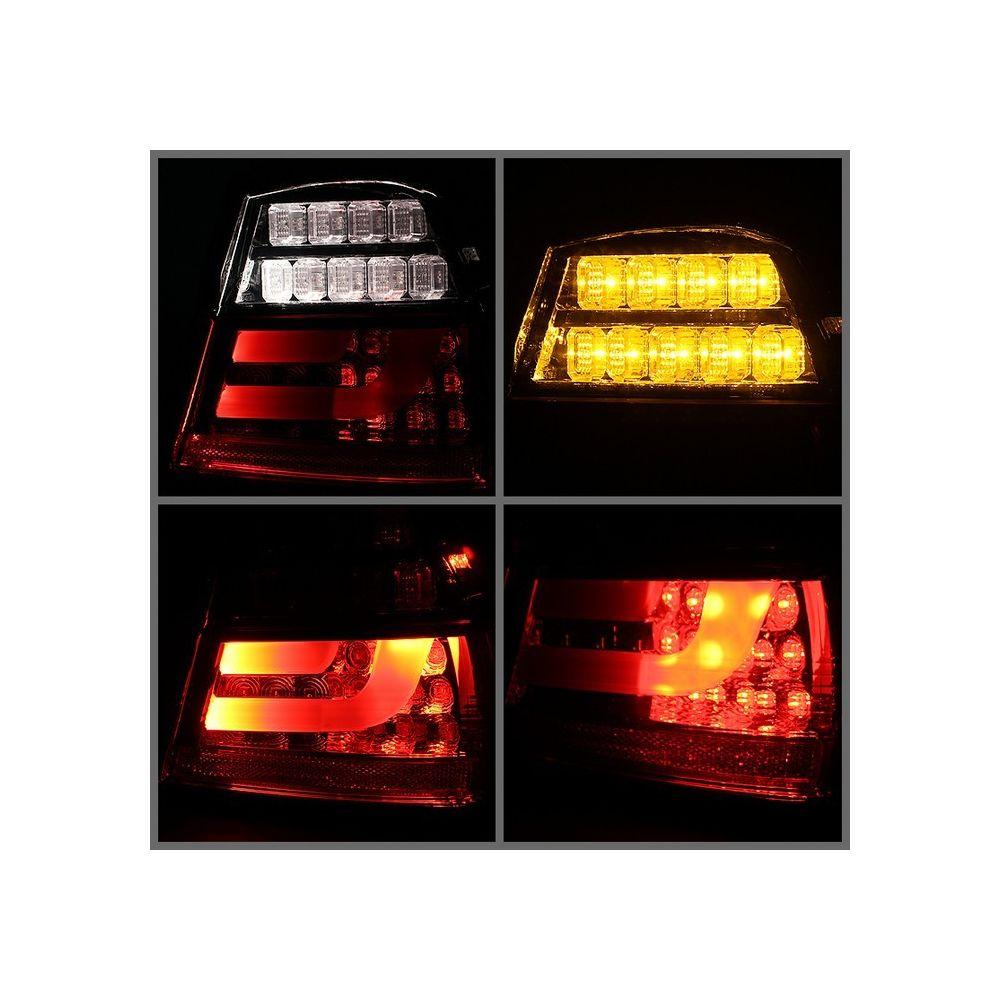 Spyder Auto ® - Red Smoke LED Indicator Light Bar LED Tail Lights (5071989)