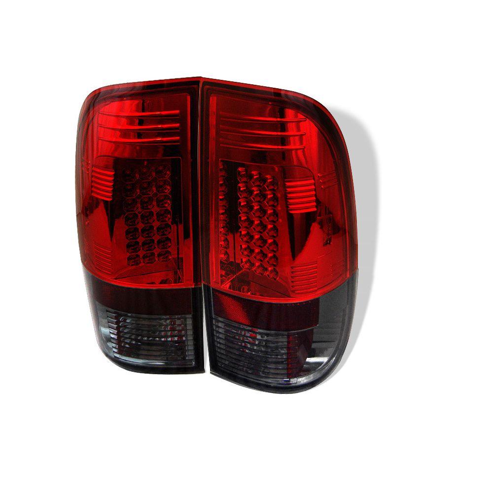 Spyder Auto ® - Red Smoke LED Tail Lights (5003492)