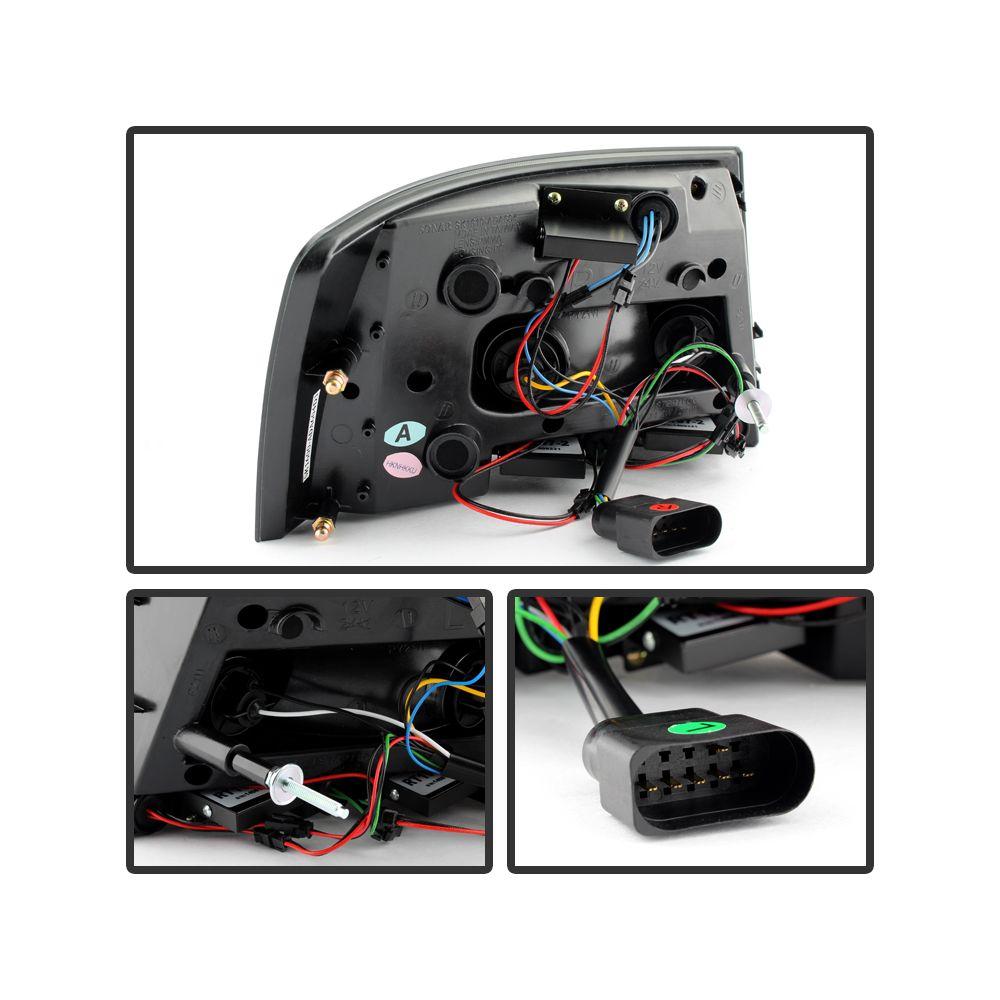 Spyder Auto ® - Red Smoke LED Tail Lights (5079619)