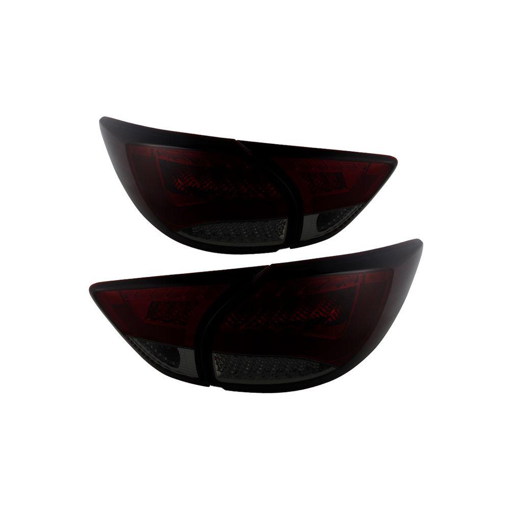 Spyder Auto ® - Red Smoke LED Tail Lights (5079640)
