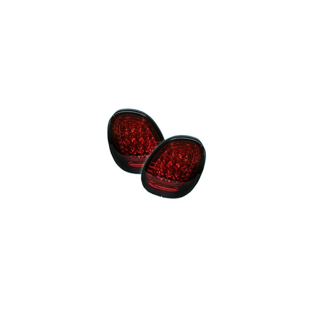 Spyder Auto ® - Red Smoke LED Trunk Tail Lights (5005786)