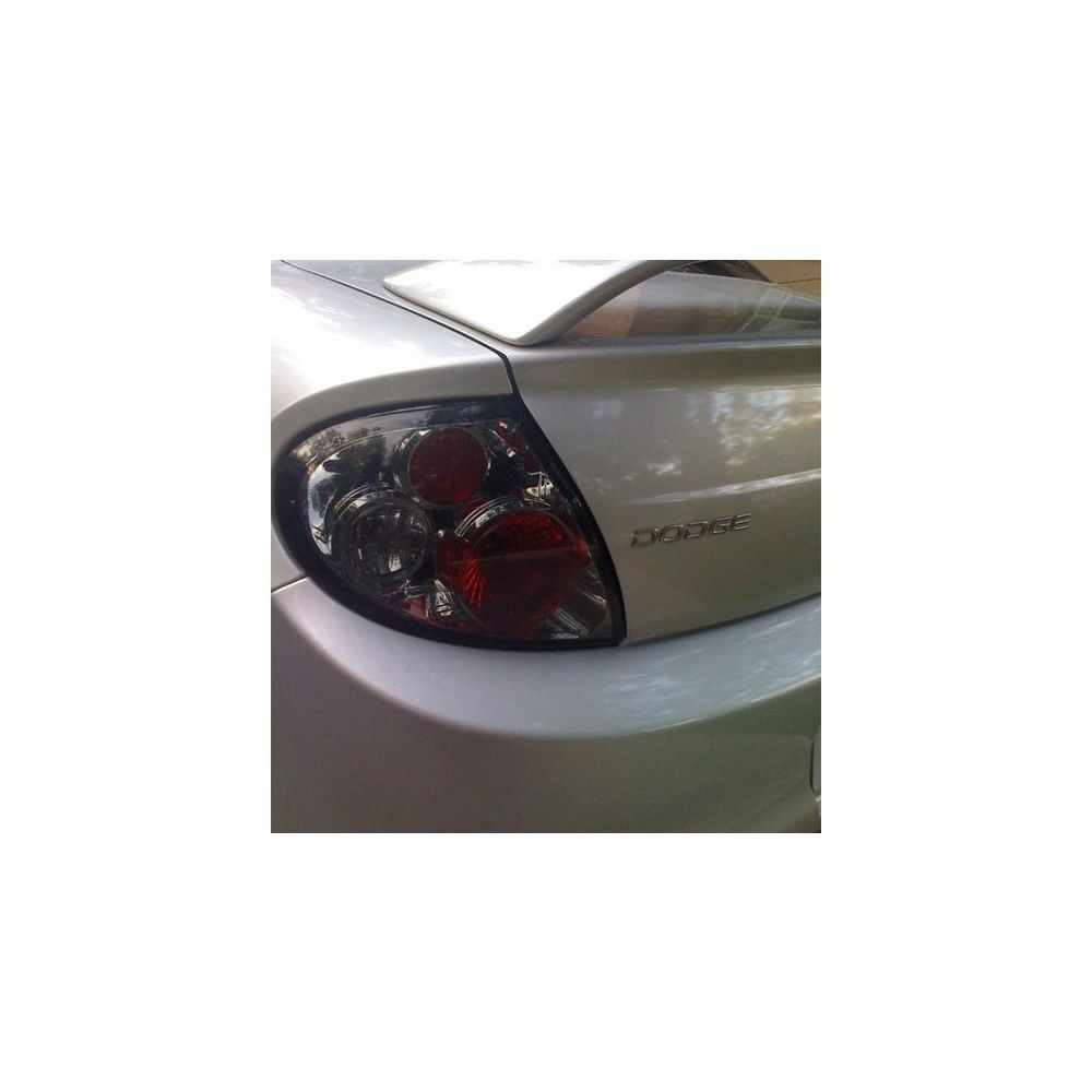 Spyder Auto ® - Smoke Euro Style Tail Lights (5002440)