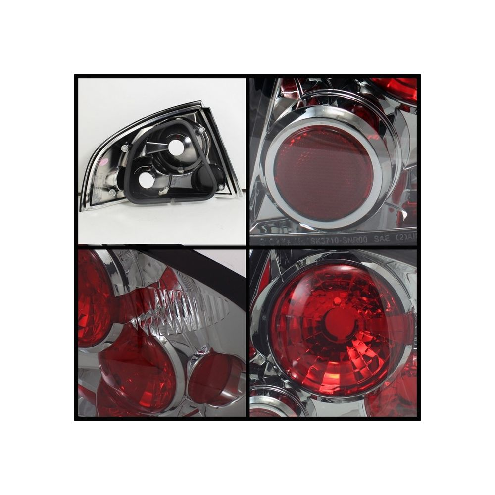 Spyder Auto ® - Smoke Euro Style Tail Lights (5033628)
