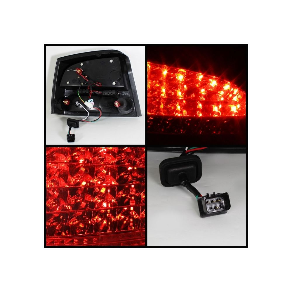 Spyder Auto ® - Red Smoke LED Tail Lights (5031686)