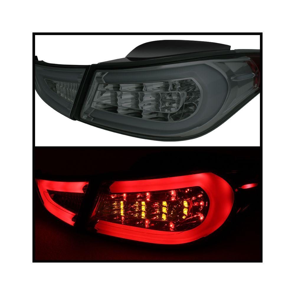 Spyder Auto ® - Smoke Light Bar LED Tail Lights (5072801)