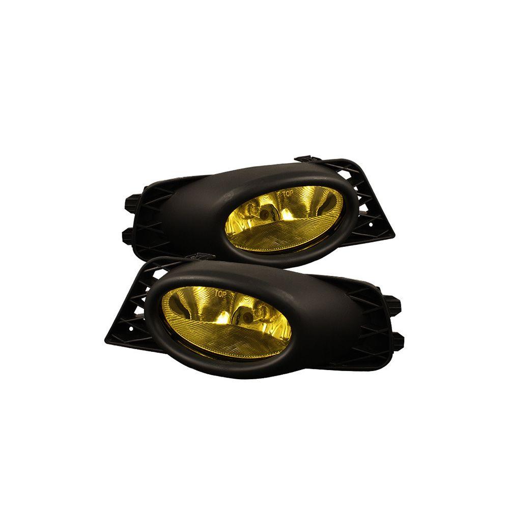 Spyder Auto ® - Yellow OEM Style Fog Lights (5020703)