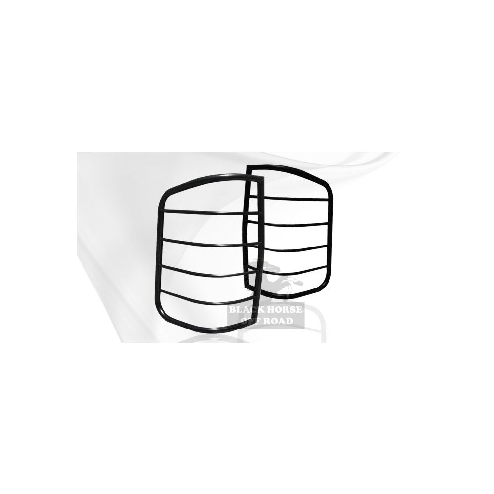 Black Horse Off Road ® - Tail Light Guards (7BC15A)